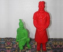 兵马俑玻璃钢人物雕塑