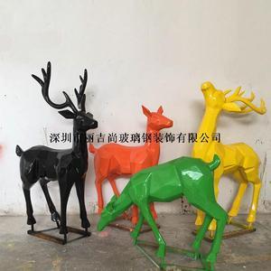 玻璃钢鹿雕塑2
