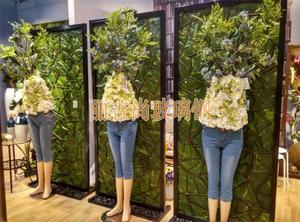 玻璃钢雕塑仿人花器玻璃钢花盆